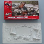 A107 - Airfix Forward Command Post kit and Base